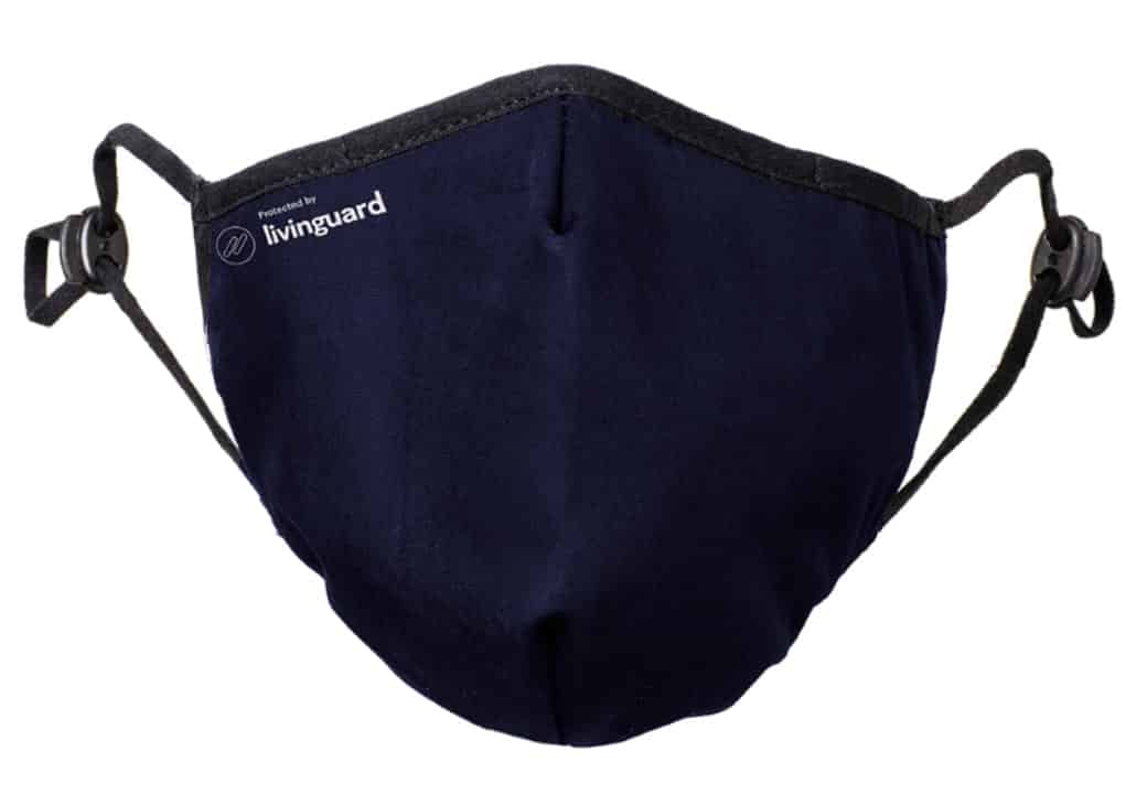 Face Mask Pro Blue Large with antiviral effect from Livinguard